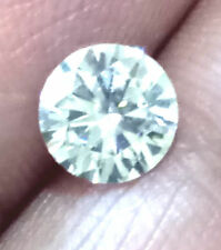 Whtie Color Loose Real Moissanite 1.30 Ct ( vvs1 )7.30 mm