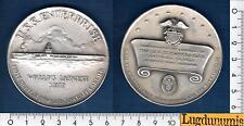 Médaille - U.S.S.ENTERPRISE 24-9-1960 En Argent Silver Nucclear Ship