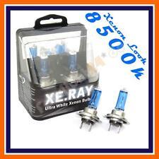 2x H7 Xenon Aspecto Bombillas coche 12V 55W 8500K Px26d más Luz Azul Luz