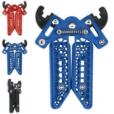 Archery Bow Kick Stand Holder for Compound Bow Hunting Bow Rack Legs Blue