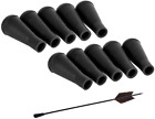 Arrow Tips Blunt Head Archery Practice Safety Target Rubber Hunting Game 10 Pack