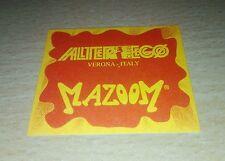 Adesivo da collezione Discoteca Alter Ego Club Verona italia italy Mazoom