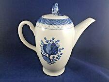 "Royal Copenhagen TRANQUEBAR BLUE - Coffee Pot 7"" #105"