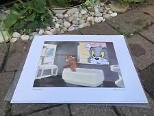 The Art Group Ltd Tom & Jerry Original Print Baby Puss c.1995 From 1943 Film UK