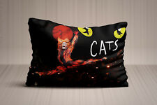 New CATS Broadway Musical Show Pillow Case 20x30 Twin Side