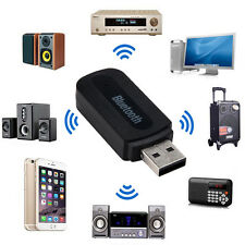 3.5mm Bluetooth USB Car Home Music Audio Aux Stereo Receiver Adapter Transmitter
