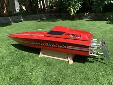 """FORMULA RACING 1/5 55"""" RC GAS BOAT WITH ENFORCER ENGINE"""