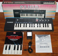 Casio Pt-100 Electronic Musical Instrument Synthesizer Keyboard