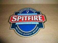SHEPHERD NEAME SPITFIRE  Ale Beer Pump Clip face Pub Bar Collectible