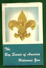 VINTAGE  BOY SCOUT - DEN MOTHER WELCOMING PACKET