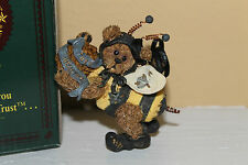 """Collectible 1995 Boyds Bear """"Doc Buzzby"""" Bee Ornament With Box!"""