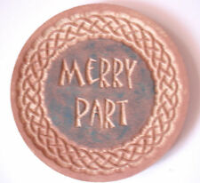 Merry Part mold gothic pagan wicca celtic plaster concrete plastic mold