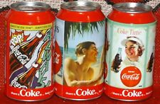 COCA COLA METAL MONEY BOXES ALL MINT IN BAGS