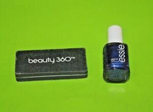 Essie Nail Lacquer Nail polish 1595 + Beauty 360 Nail File Lot Of 2 New