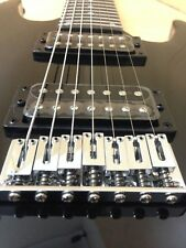 Haze HS-E007BLK Solid Body 7-String Electric Guitar,Black+Free Gig Bag,3 Picks