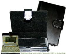 CalcCase Translator für Sharp PWE-Serie Schutztasche Kunstleder schwarz