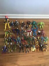 Marvel Legends X-Men, X-Force, Spider-Man Large Loose Lot, 36 Fig