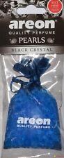 Areon máxima Calidad Lujo De Perfume ambientador coche colgando Bag-Negro Cristal