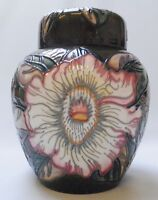 Moorcroft Gustavia Augusta Ginger Jar - 1st Quality - Boxed - Made in England