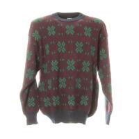 Herren Strickpullover Gr. 2XL XXL Sweater Sweatshirt Langarm Retro Vintage