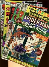 Marvel Team-Up 98,121,123,126,133 *5 Books* Spider-Man! Black Widow! Daredevil!