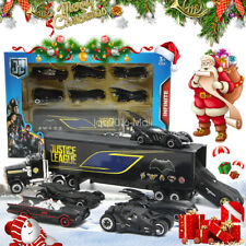 Set of 7 Batman Batmobile & Truck Car Model Toy Vehicle Metal Diecast Gift Kids
