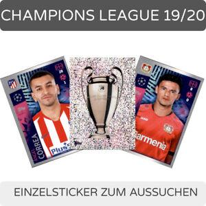 Topps Champions League 2019/2020 Einzelsticker 1-250 zum aussuchen
