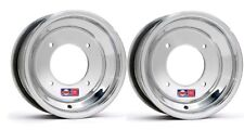 LTZ400 FRONT WHEEL DWT 4x144 10x6 SUZUKI RED LABEL ROAD RACE STREET POLISHED RIM