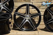 NEU für Mercedes 19 Zoll Concave Alufelgen Axxion AX7 8,5x19 ET45 ABE schwarz