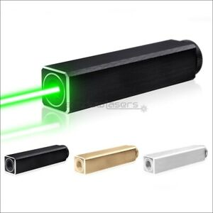 GQ10 Fixed Focus 1MW 532nm Visible Green Laser Pointer Laser Pen Battery&Charger