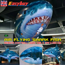 Remote Controlled RC Toy Air Flying Shark Fish Swimmer - Children Kids XMAS Gift