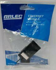 Arlec Ethernet Module RJ45 8P8C Network Socket Black 7848GB New Sealed