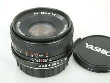 YASHICA ML 50mm 1:2 2/50 für Contax Yashica C/Y TOP Excellent  **ANKAUF**