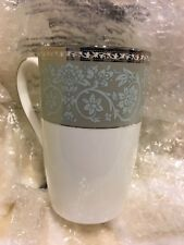 "NEW 858507 Lenox Westmore Tall Mug Cup 4 3/4"" Tall"