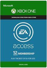 Xbox EA Access 12 Month Membership - Microsoft Xbox One Digital Code[GLOBAL]