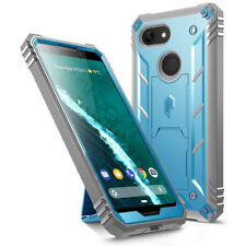 """Poetic Revolution """"360 Degree Protection"""" Rugged Case For Google Pixel 3 Blue"""