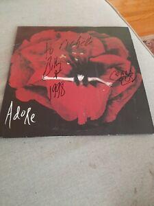 Record Album LP Smashing Pumpkins Adore Signed Billy Corgan VG+