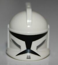 Lego Star Wars White Minifig Headgear Helmet Clone Trooper with Holes