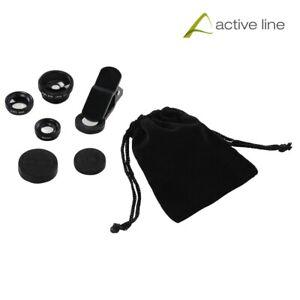 Hama 3 in 1 UNIVERSAL Lens Kit for Smartphones and Tablet PCs (UK Stock) BNIB