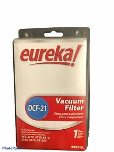 Genuine Eureka Style DCF-21 Vacuum Cleaner Filter # 68931A