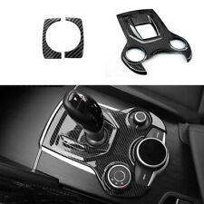 Carbon Fiber Console Gear Shift Box Panel Trim For Alfa Romeo Giulia 2017-2018