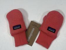 Patagonia Baby Pita Pocket Fleece Mittens Size 0-3 Months Pink 60549 FA19