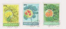 (K69-183) 1994 PNG part 3set flowering trees (GF)
