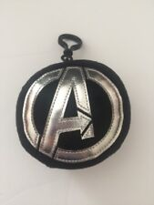 Marvel Avengers Assemble Plush Backpack Clip On With Zipper Pouch