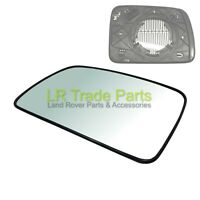 LAND ROVER DISCOVERY 3 NEW FRONT LHS PASSENGER N/S HEATED DOOR WING MIRROR GLASS