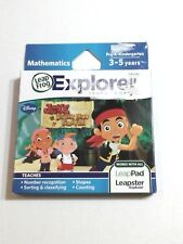 JAKE AND THE NEVERLAND PIRATES GAME LeapFrog Explorer Math LEARNING Games DISNEY