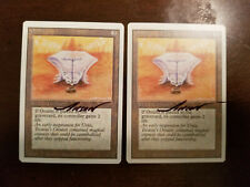 Onulet X1 Revised Ed Signed by Anson Maddocks Magic the Gathering