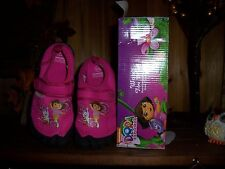 NICKELODEON DORA THE EXPLORER WATER TOE SHOES SIZE 3 KIDS APPAREL CARTOON FUN