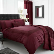 Luxury Faux Silk Satin Quilted Pearl Bedspread Throw Over Blanket