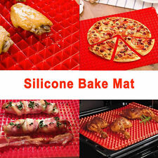 NEW Silicone Healthy Cooking Baking Mat Non-stick Oven or Microwave Oven